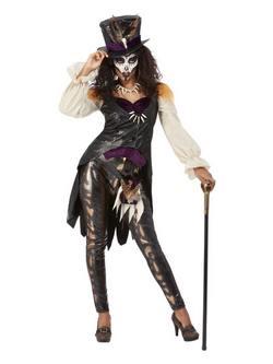 Fekete Mágia Boszorkány Női Jelmez Halloweenre