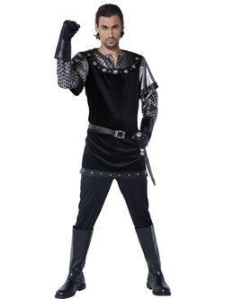 Fekete Nottingham Seriffje Férfi Jelmez