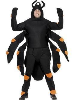 Fekete Pók Férfi Jelmez