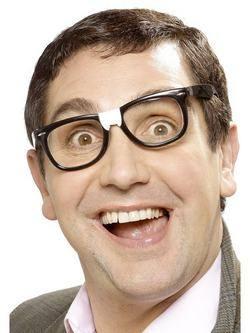 Fekete Stréber Szemüveg