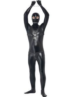 Fekete Szexrabszolga Testhez Álló Férfi Jelmez