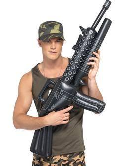 Felfújható Gépfegyver - 112 cm