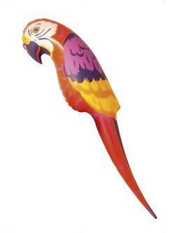 Felfújható Papagáj - 116 cm