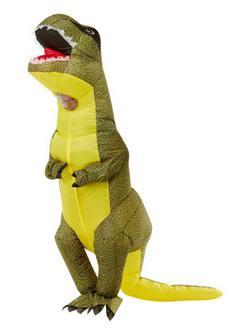 Felfújható T-Rex Dínó Férfi Jelmez