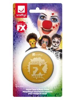 Fémes Arany Vízbázisú Arcfesték Make-Up Fix - 16 ml