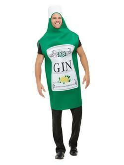 Gin Üveg Férfi Jelmez
