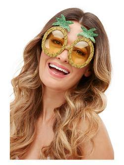 Glitteres Ananász Formájú Szemüveg