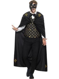 Gótikus Fantom Férfi Jelmez