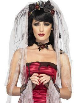 Gótikus Menyasszony Jelmezkellék Szett