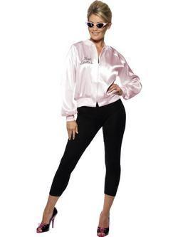 Grease Pink Ladies Kabát Női Jelmez