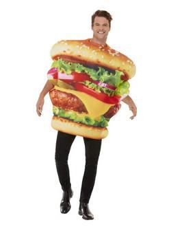Hamburger Férfi Jelmez