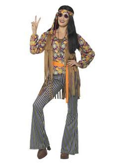 Hippi Énekes Női Jelmez