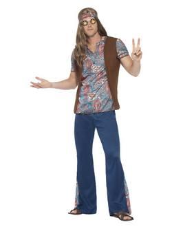 Hippi Férfi Jelmez