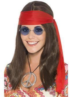Hippi Női Jelmezkellék Szett