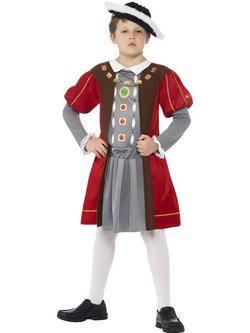 Horrible Histories VIII. Henrik Angol Király Kisfiú Jelmez