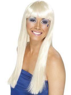 Hosszú Szőke ABBA Dancing Queen Paróka