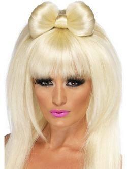 Hosszú Szőke Lady Gaga Masnis Paróka