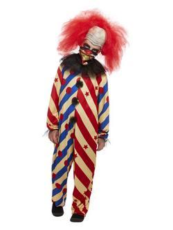Ijesztő Bohóc Kisfiú Jelmez Halloweenre