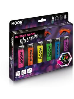 Intenzív Színű UV Neon Szempillafesték - 6 db-os, 15 ml