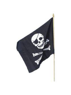 Kalózos Zászló - 45 cm x 30 cm