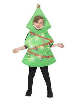 Karácsonyfa Világító Gyerek Jelmez