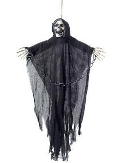 Kaszás Csontváz Halloween Függő Dekoráció