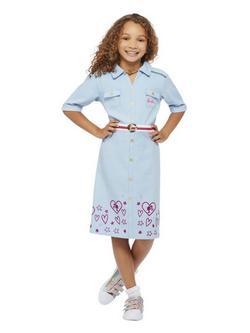 Kék Barbie Álomház Kalandok Kislány Jelmez
