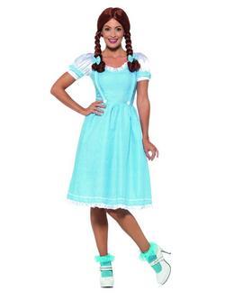 Kék-Fehér Óz a Csodák Csodája Dorothy Jelmez Nőknek - L