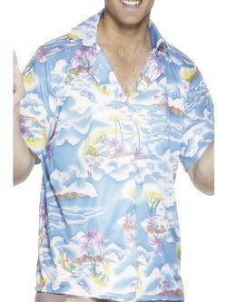 Kék Hawaii Ing Férfi Jelmez