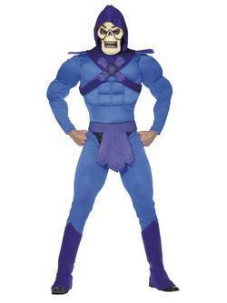 Kék He-Man A Világ Ura Skeletor Férfi Jelmez