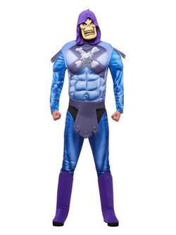 Kék He-Man Skeletor Férfi Jelmez