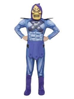 Kék He-Man Skeletor Gyerek Jelmez