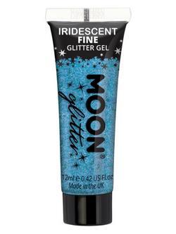 Kék Irizáló Csillám Zselé - 12 ml