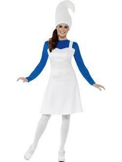 Kék Kerti Törpe Női Jelmez
