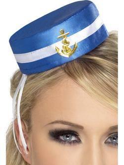 Kék Matróz Sapka