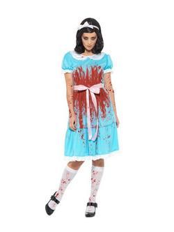 Kék Ragyogás Filmből Ismert Grady Lányok Horror Jelmez Nőknek - XL