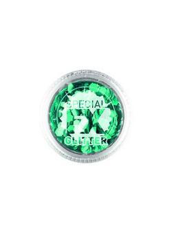 Kékeszöld Színű Konfetti a Smink Kiegészítéseként - 2 gramm