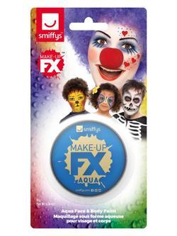 Királykék Vízbázisú Arcfesték Make-Up Fix - 16 ml