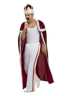 Királynő Férfi Jelmez