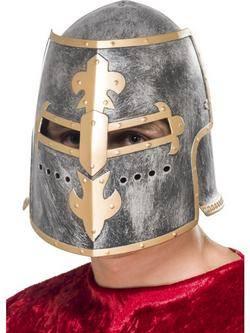 Középkori Keresztes Lovag Sisak