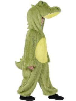 Zöld Krokodil Gyerek Jelmez