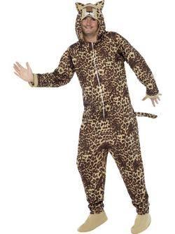 Leopárdmintás Felnőtt Jelmez