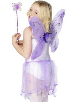 Lila Pillangószárny Varázspálcával