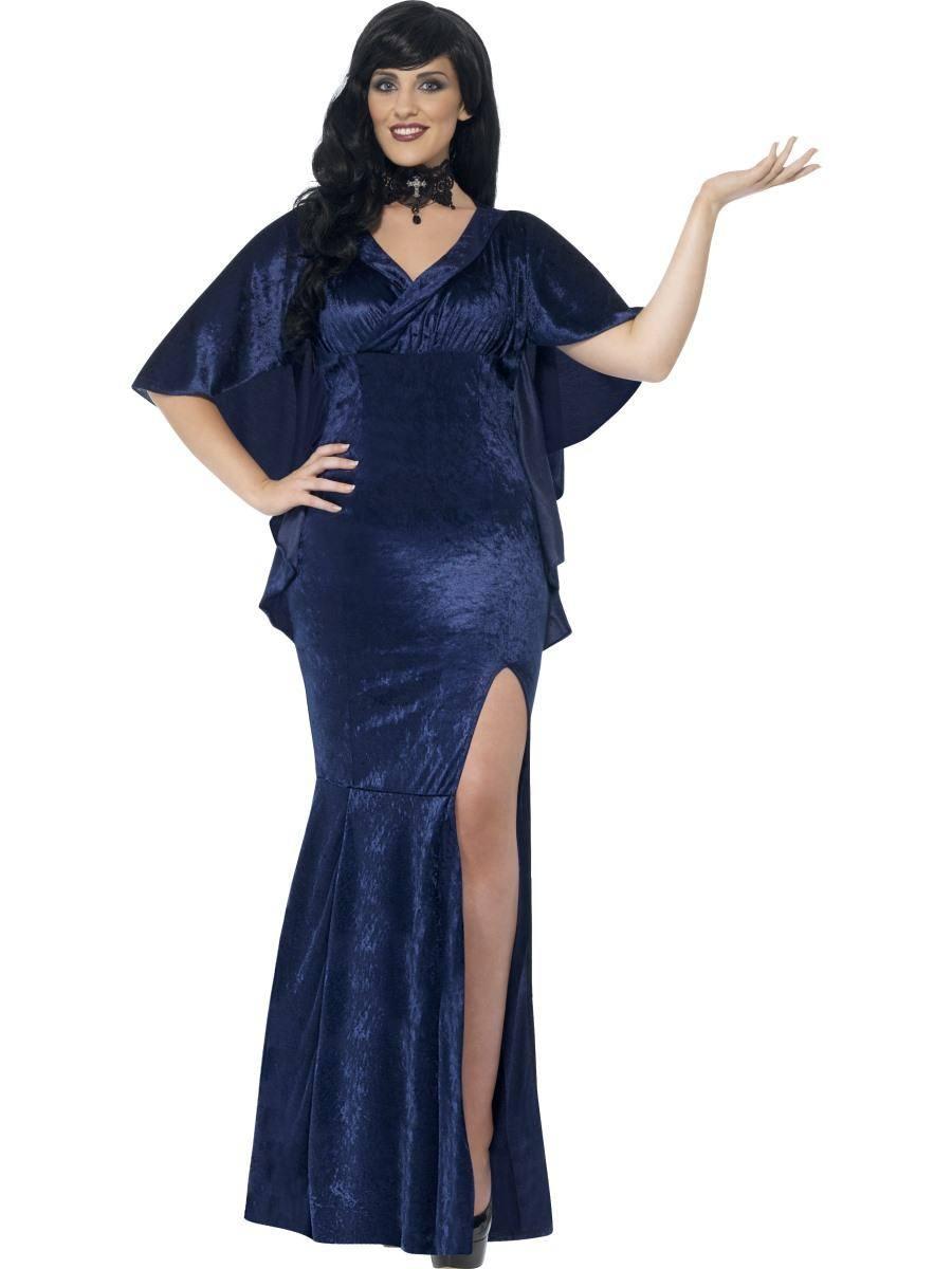 Kék Boszorkány Jelmez Nőknek Halloweenre