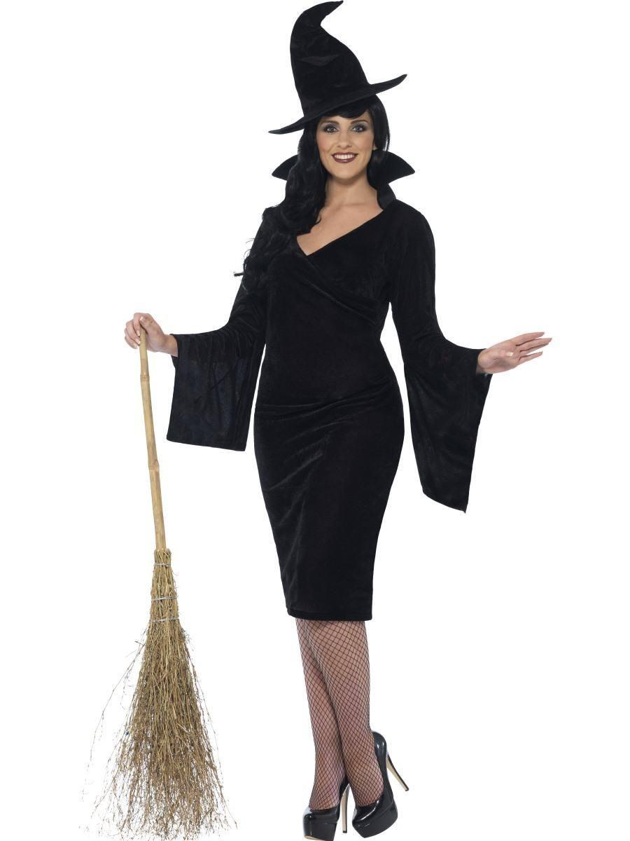 Fekete Boszorkány Jelmez Nőknek Halloweenre