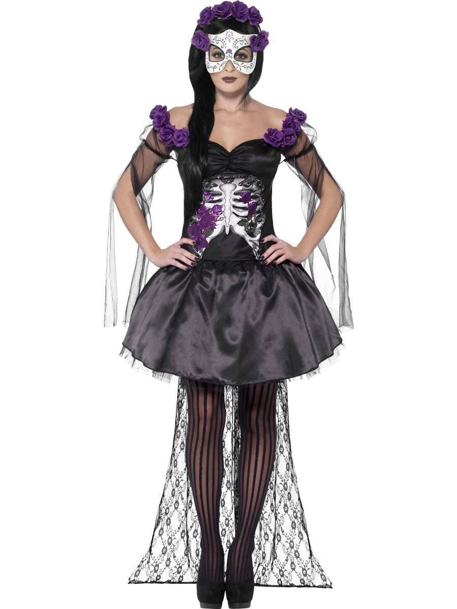 Piros Csontváz Senorita Jelmez Nőknek Halloweenre