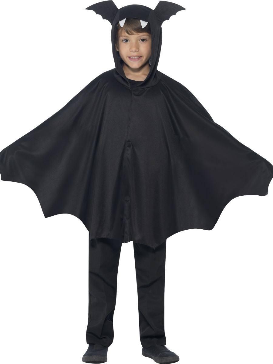 Fekete Denevér Jelmez Gyerekeknek Halloweenre