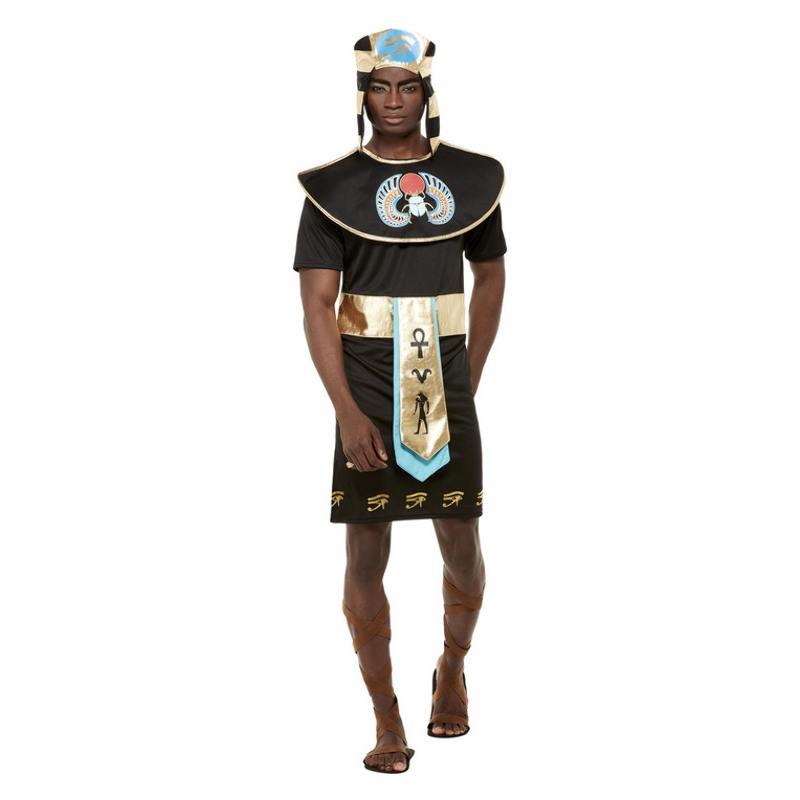 Fekete Egyiptomi Herceg Jelmez Férfiaknak - L
