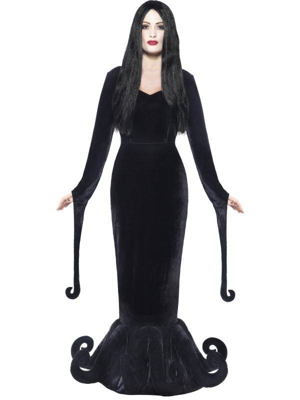 Fekete Kastély Hercegnője Jelmez Nőknek Ruhával - L