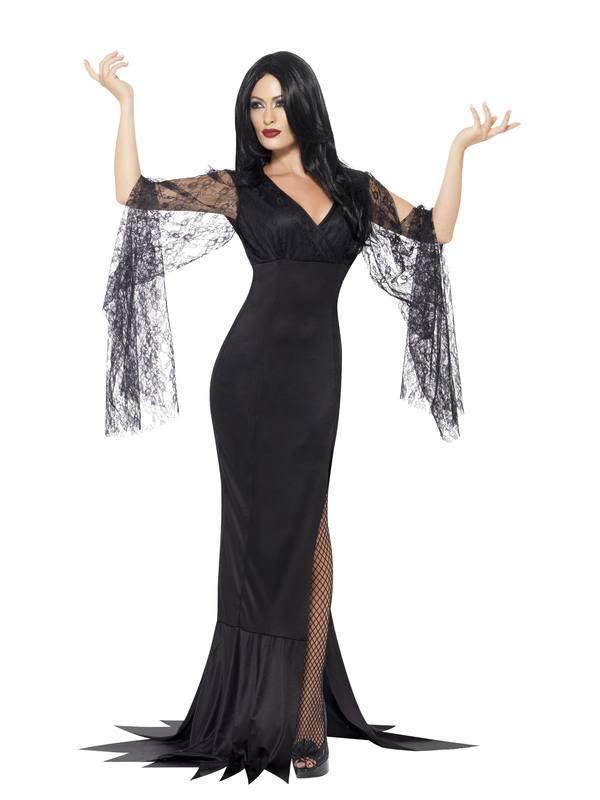 Fekete Halhatatlan Lélek Jelmez Nőknek Halloweenre